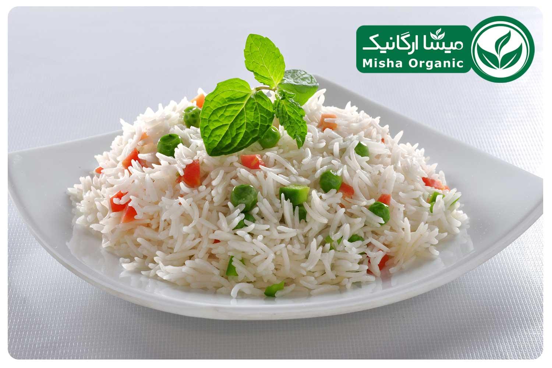 برنج هاشمی سفید ارگانیک