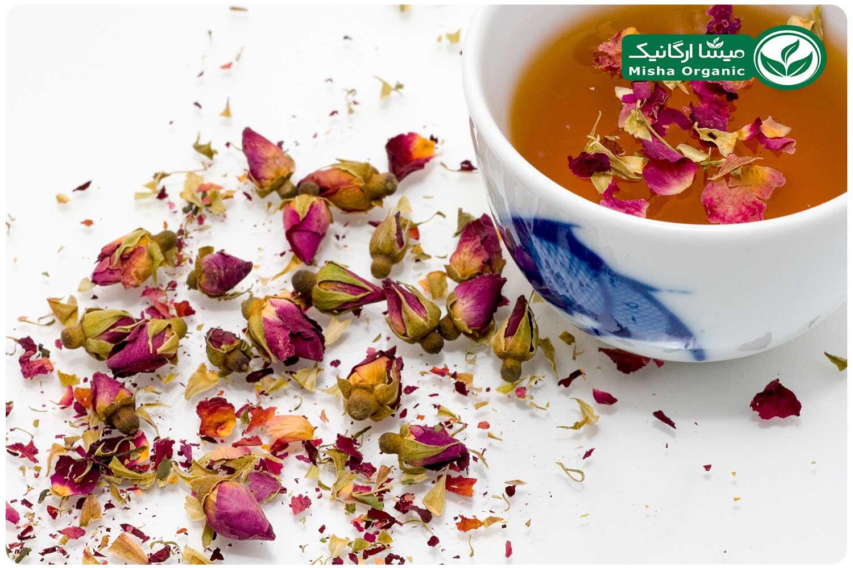 چای ممتاز گلسرخ ارگانیک زوبین