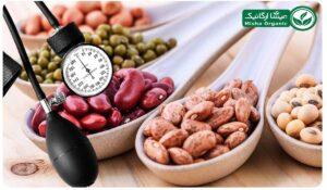 حبوبات و کاهش فشار خون