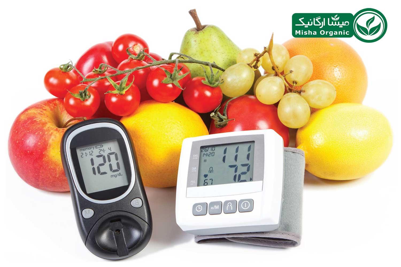 میوه و سبزیجات برای کاهش فشار خون