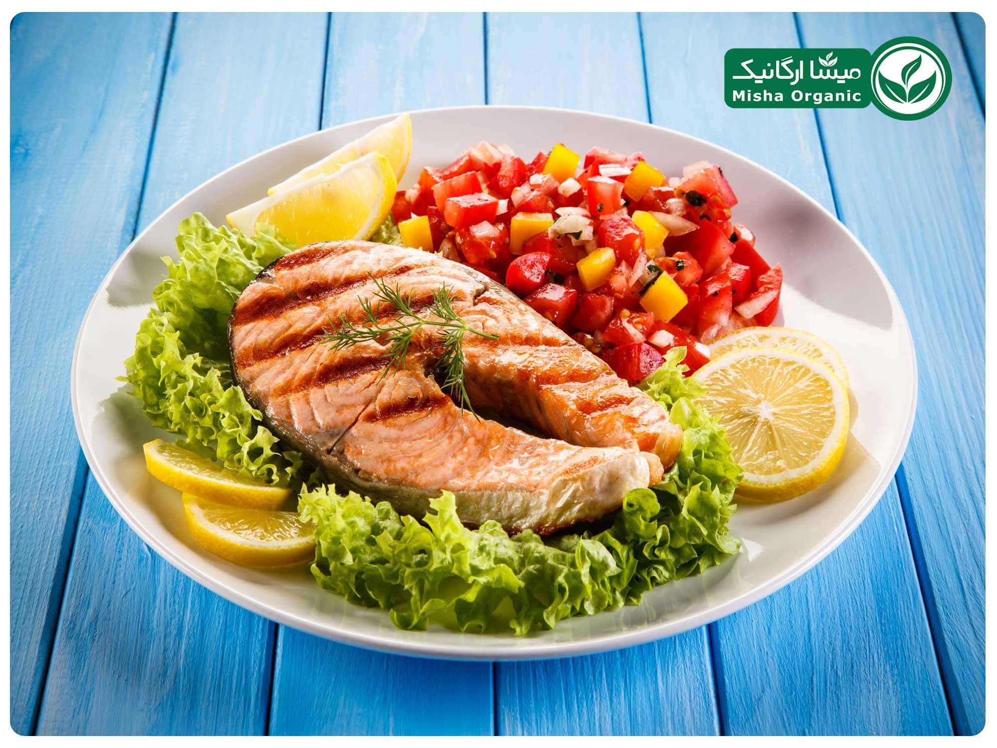 ماهی و غذاهای دریایی