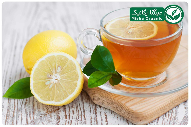 لیموترش و چای