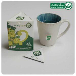 چای سبز و لیموترش ارگانیک