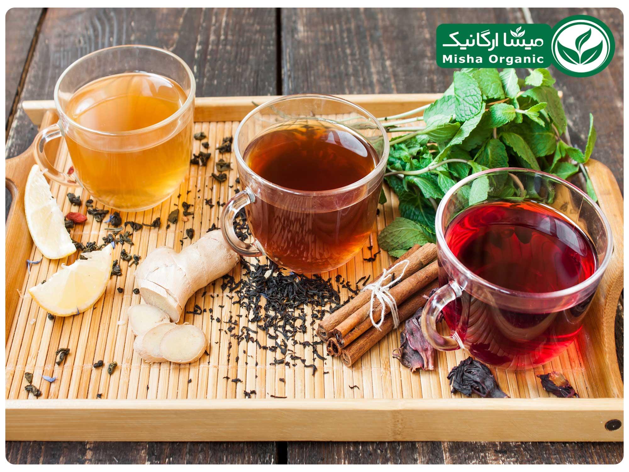 چای برای کاهش کلسترول