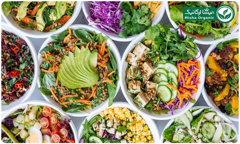 سبزیجات خام برای تقویت سیستم ایمنی