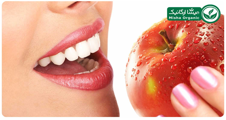سرکه سیب و سلامت دندان